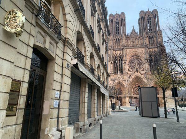 Etude notariale Reims Cathédrale